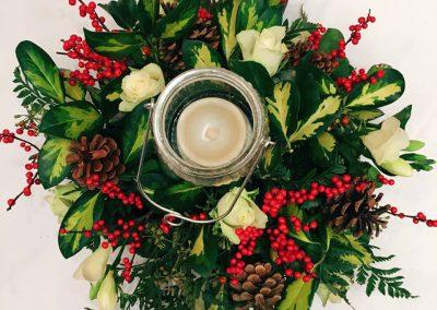 Christmas flower workshops
